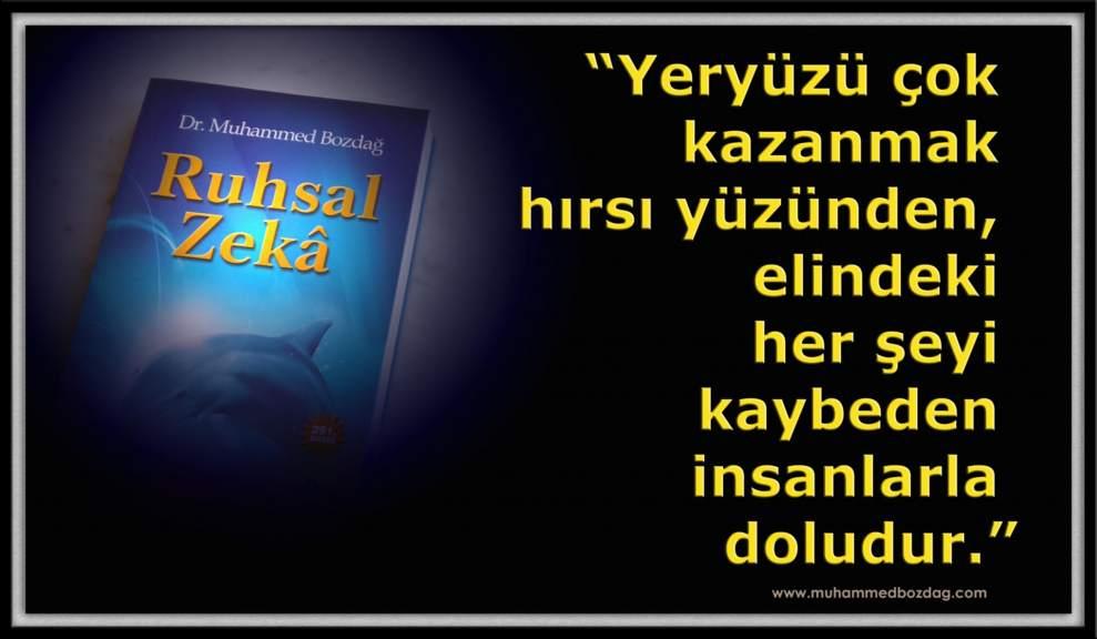 Ruhsal Zeka: Hırsın metafizik yıkımına karşı kanaat gücü!