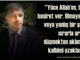Muhammed Bozdağ'dan dualar